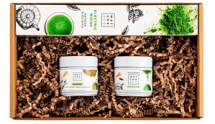 Green tea set 1