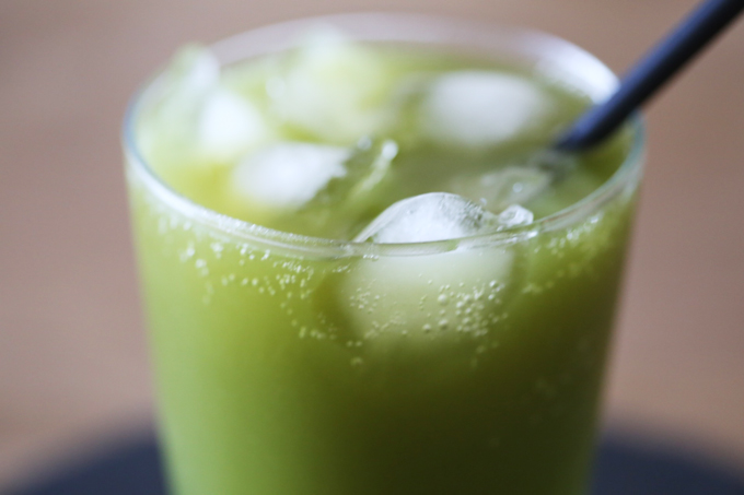 matcha green tea soda