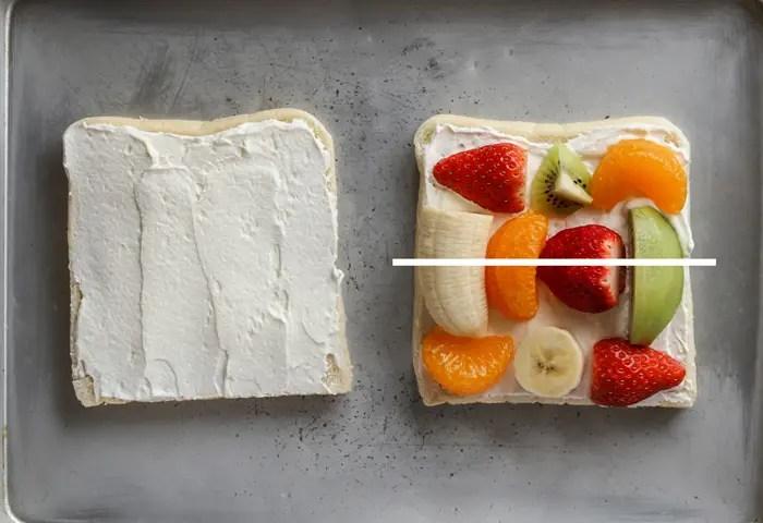 Japanese fruit sandwich recipe