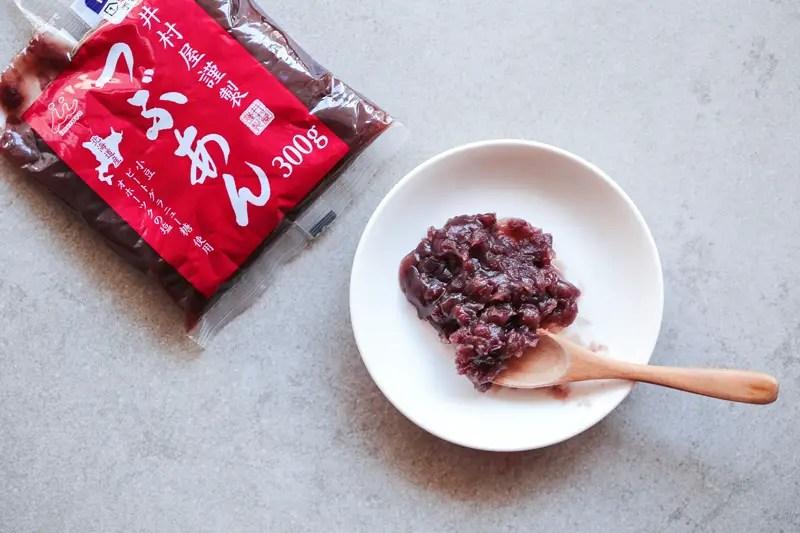 Anko red bean paste