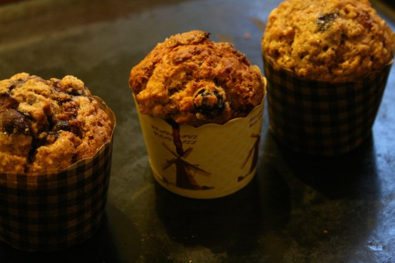 Blueberry Buttermlk Muffins