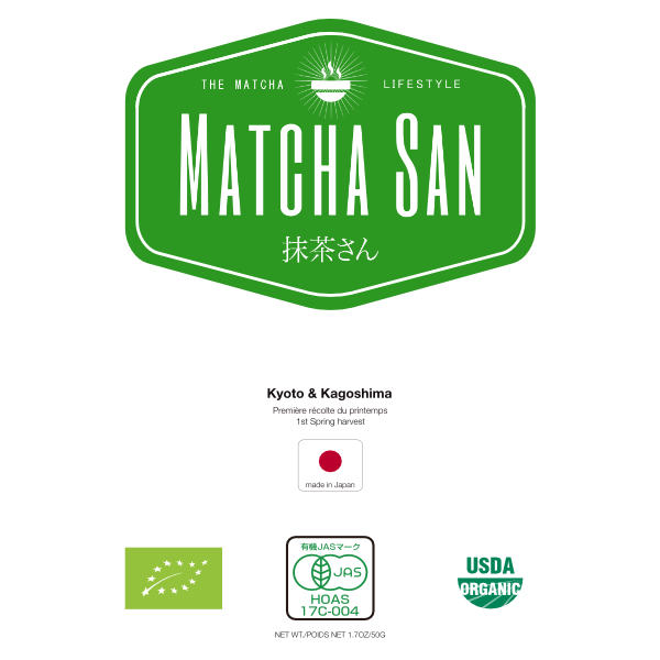 Label Matcha San