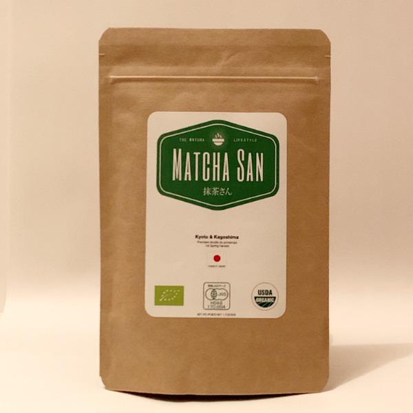 Thé vert matcha cérémonial – Kyoto & Kagoshima – Organic JAS – 50 g (Japon)