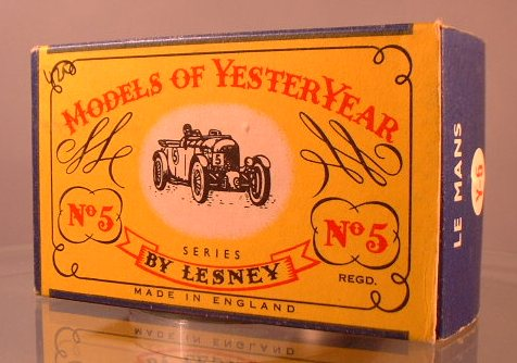 Yesteryear Box Type - C