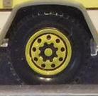 9 Dot Centre Star-Yellow