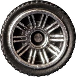 Matchbox Wheels : Double 10 Spoke - Chrome