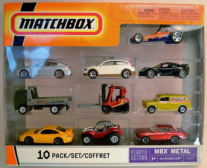 10 Pack : 2007 All Exclusive - New Toolings