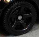 5 Spoke -Black