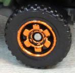 6 Spoke Ringed Gear - Orange
