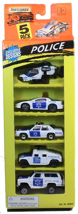 5 Pack - 1996 #03 Police
