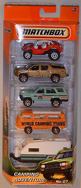 5 Pack : 2011 #07 - Camping Adventure