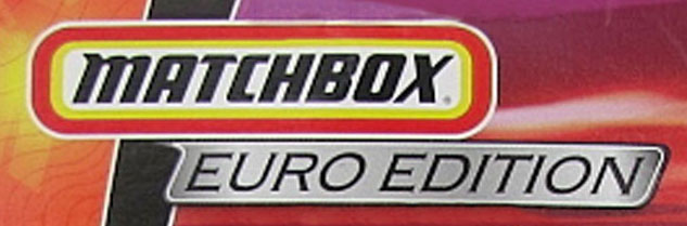 Matchbox Euro Editions 2009
