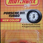Matchbox Long Card 1992