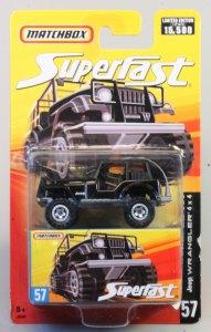 Matchbox MB131-23 : Jeep 4X4