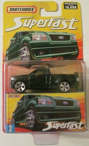 Matchbox MB663-09 : Ford F-150 SVT Lightning Pick Up