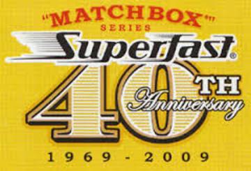 Matchbox Superfast 40th Anniversary
