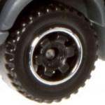 6 Spoke RInged Gear - Black-Chrome