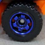 6 Spoke Ringed Gear - Dark Blue