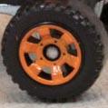 6 Spoke Utility - Orange