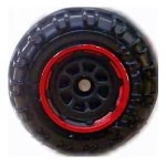 8 Spoke - Black-Red