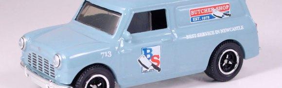 MB713-18 : 1965 Austin Mini Van