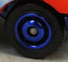 Ringed Disc - Blue