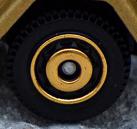 Ringed Disc - Tan