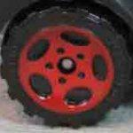 5 Spoke Oval - Red