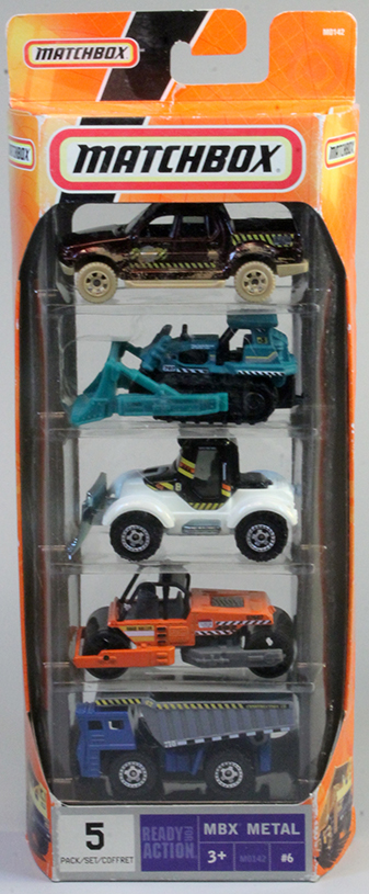 Matchbox 5 Pack : 2008 #08 - Construction