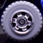 6 Spoke RInged Gear - Chrome-Grey
