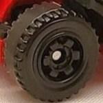 6 Spoke Ringed Gear - Black