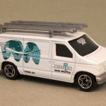 MB444-02 : Ford Panel Van (Roof Attachments/Retooled)