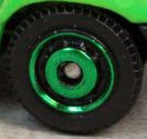 Ringed Disc - Green