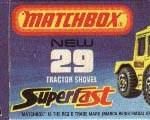 Matchbox Box Type J3