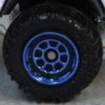 Matchbox 8 Spoke Rimmed- Blue