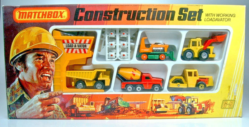 Matchbox Construction Set - 1979