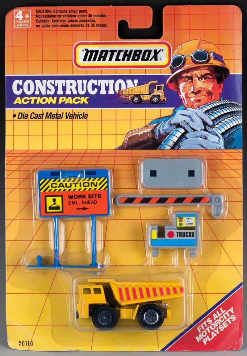 Matchbox 1991 Action Pack - Construction