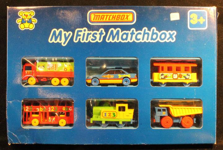 My First Matchbox 6 Pack - 1992