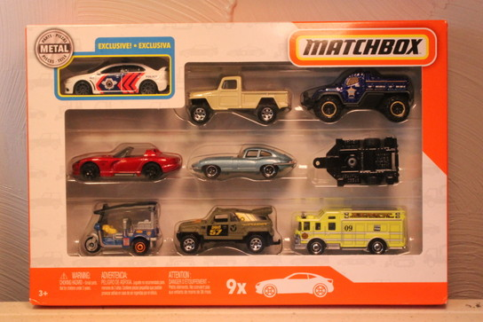 Matchbox 9 Pack : 2018 #04