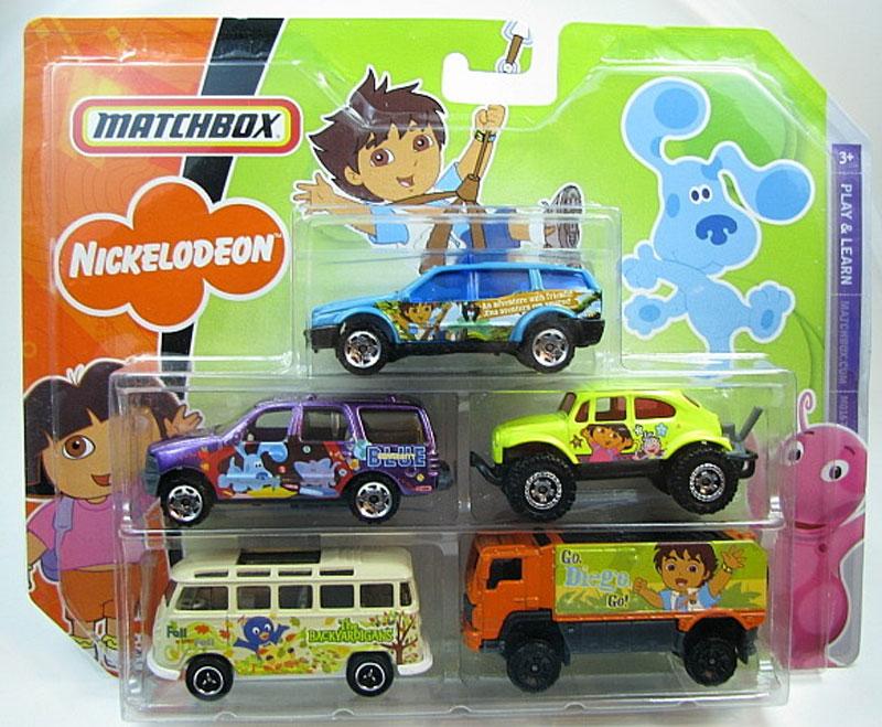 Matchbox 5 Pack : 2008 – Nickelodeon #03