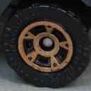 Matchbox Dot Dash Modern - Dark Orange