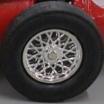 Matchbox Models of Yesteryear Wheels : 24 Spoke Plastic Bright Chrome