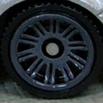 Matchbox Wheels : Double 10 Spoke - Dark Grey