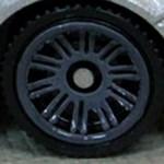 Matchbox Wheels : Double 10 Spoke - Dark Grey