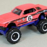 "Matchbox MB1068-02 : Custom '68 Mustang ""Mudstanger"""