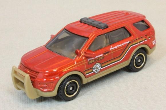Matchbox MB1179-01 : '16 Ford Explorer Interceptor