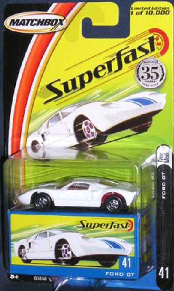 Matchbox MB634-01 : Ford GT