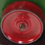 Matchbox Wheels : Metal Roller Rear - Red