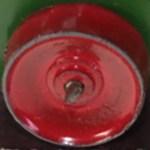Matchbox Wheels : Metal Roller Rear - Red