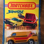 Matchbox 1980 Blister